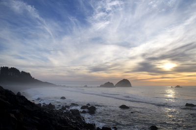 Del Norte coast sunset