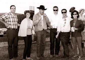 """The Money"" - 1967 roundup at Rancho Mission Viejo (O'Neill Ranch), San Juan Capistrano, CA"