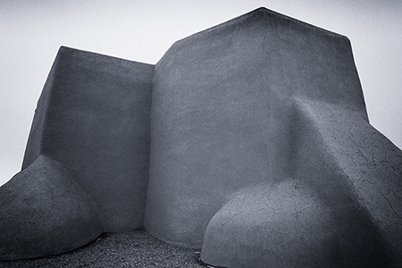 San Francisco de Asis Mission Church, Ranchos de Taos, New Mexico, by Tim Keller