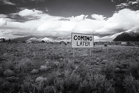 Coming Later - Taos, Tim Keller Photography