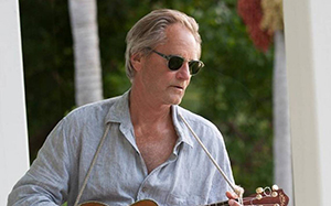 Sam Shepard with mandolin, photo by
