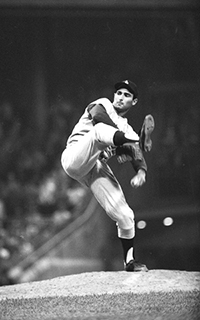 Sandy Koufax in action