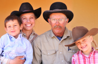 Brittany & Don Rouse Family, New Mexico
