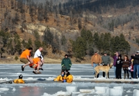 Polar Bear Plunge - Men in Orange