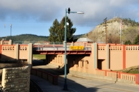 Railroad Trestle Underpass, Raton NM
