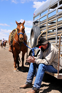 SGHA youth rodeo, Des Moines, New Mexico, Western Horseman